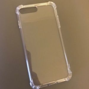 Clear iPhone 7/8 plus case